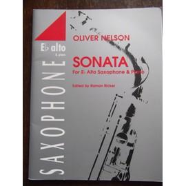 Sonata de Oliver Nelson pour saxophone alto