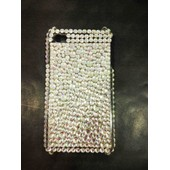 Coque Housse Iphone 4 4s Strass Diamant Brillante Rare