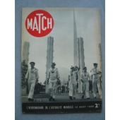 Match N� 58 : Les Marins Fran�ais � New-York, Le Japon En Guerre, L'ile Du Levant, L'aviation Fran�aise, Les Exil�s Autrichiens � Paris � de Match N 58