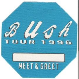 Bush : Backstage Pass - Tour 1996
