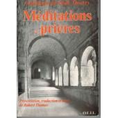 M�ditations Et Pri�res de Guillaume de Saint-Thierry