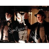 Sean Connery - Harrison Ford - Indiana Jones - Photo Dedicacees