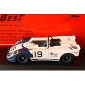 Porsche 908 #19 Flunder Daytona 1973 Bytzek Kuchne Best 9169 1/43