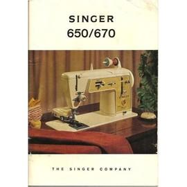 Singer - Golden Panoramic 650g - Notice Documentation (Fr)