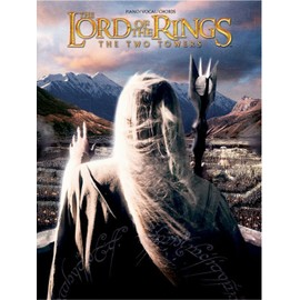 The lord of the rings : the two towers - piano vocal chords