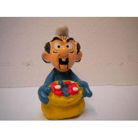 Schtroumpf Masque De Gargamel Variante Claire Figurine Collection Schtroumpfs Smurf Schtroumpfette