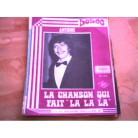 "RARE PARTITION ANTOINE LA CHANSON QUI FAIT "" LA LA LA """