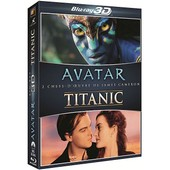 2 Chefs-D'oeuvre De James Cameron : Avatar + Titanic - Pack de James Cameron