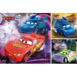 Puzzle 3 X 49 Pi�ces - Cars : Sur La Piste De Course