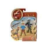 Tintin - Action Set : Figurines Tintin Et Capitaine Haddock