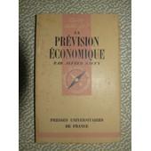 La Prevision Economique. de alfred sauvy