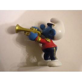 Schtroumpf Musicien Figurine Collection Schtroumpfs Smurf Schtroumpfette