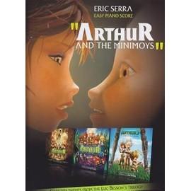 ARTHUR AND THE MINIMOYS piano facile