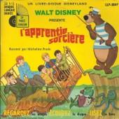 Walt Disney Pr�sente L'apprentie Sorci�re (Livre Disque) : Racont� Par Micheline Presle / Chansons De La Version Fran�aise Du Film (Sherman - Ch. Jollet) (17 Cm) - Micheline Presle