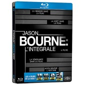 Jason Bourne - L'int�grale Des 4 Films : La M�moire Dans La Peau + La Mort Dans La Peau + La Vengeance Dans La Peau + Jason Bourne : L'h�ritage - Pack Collector Bo�tier Steelbook - Blu-Ray de Doug Liman