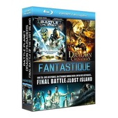Coffret Fantastique : Battle Planet + Dragon Crusaders + Final Battle Of The Lost Island - Pack - Blu-Ray de Greg Aronowitz