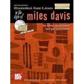 Essential Jazz Lines in the Style of Miles Davis Guitar Edition + CD