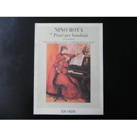 Nino Rota  7 Pezzi per Bambini  piano