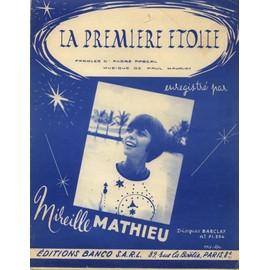 MIREILLE MATHIEU   LA PREMIERE ETOILE