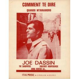 JOE DASSIN COMMENT TE DIRE