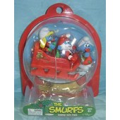 Schtroumpfs De No�l Box Collector Usa Figurine Collection Smurf