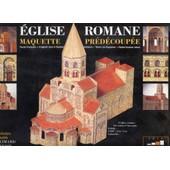 Maquette Predecoupee - Eglise Romane D'auvergne de BERNARD DEUBELBEISS