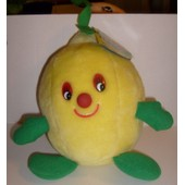 Peluche Fruit Citron - Hauteur 23cm Largeur 16cm The Woodland Bear Co