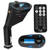 TRIXES MP3 de voiture Transmetteur FM lecteur audio USB de carte SD et AUX avec t�l�commande
