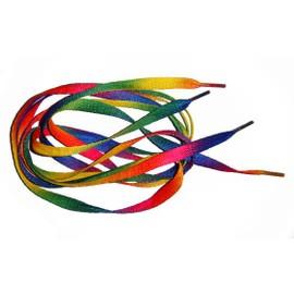 Lacets Multicolores Emo Rock Punk Gay Pride Arc En Ciel Rainbow Funatik