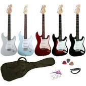 Vision St-5 Guitare Electrique Strato Avec Accessoires 5 Coloris Aux Choix