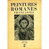 Cahiers De L'art Sacre, 2, Peintures Romanes Francaises de COLLECTIF