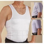 Debardeur Gaine Slim Lift T-Shirt Minceur Ventre Plat Noir S