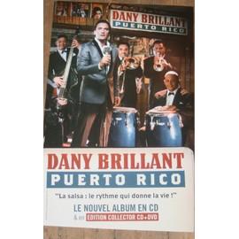 RARE PLV CARTONNEE OFFICIELLE DANY BRILLANT 30X50CM PUERTO RICO