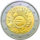 Pi�ce 2 Euros Comm�morative Slovaquie 2012
