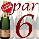 Carton De 6 Champagne Georges Cartier Brut Trad.