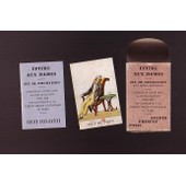 Jeu �p�tre Aux Dames - Jeu Divinatoire - Jeu Rare Et De Collection - Editions Dusserre Paris - Imprim� En France (Avant 1985)