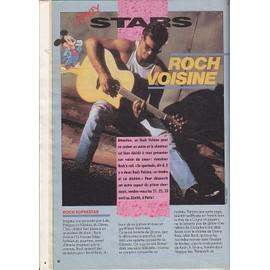 Le Journal De Mickey 1974 Roch Voisine 2 Pages Interieures / Les Forbans / Les Chiens Stars Lassie Rintintin 1.5p / 1974