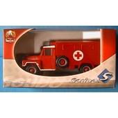 Camion Acmat Ambulance Sapeur Pompier Solido 2189 1/50 Pompiers Fire Engine