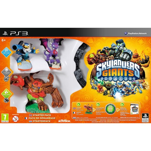 Skylanders Giants Pack de d�marrage PS3 - PlayStation 3