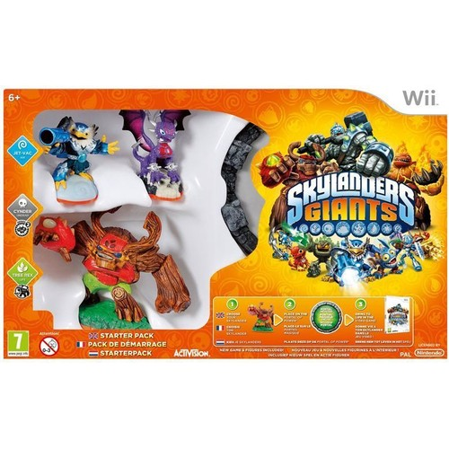 Skylanders Giants Pack de d�marrage Wii