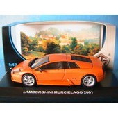 Lamborghini Murcielago 2001 Orange Edison Eg 840721 1/43 Die Cast Model