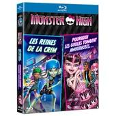 Monster High - Deux Films : Les Reines De La Crim' + Pourquoi Les Goules Tombent Amoureuses ? - Blu-Ray de Dustin Mckenzie
