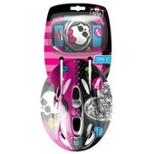 Casque + Coudi�res/Genouill�res Monster High