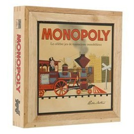 Monopoly S�rie Nostalgie En Bois