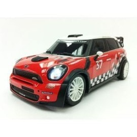 Race Tin Mini Wrc Rouge Rc 1/16e