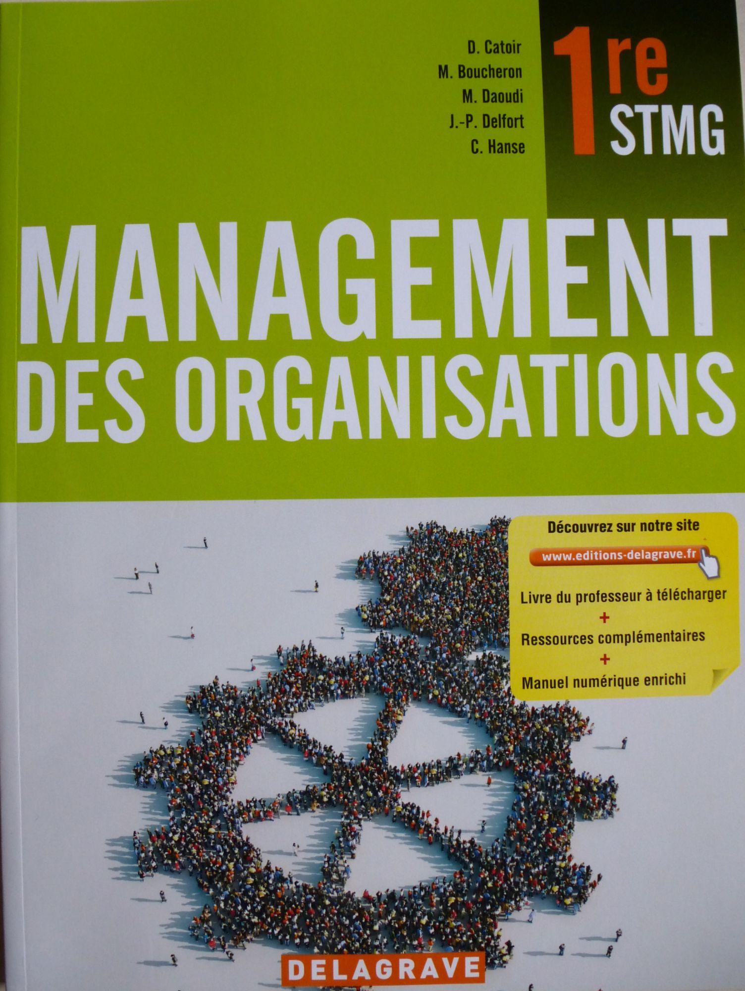 management des organisations en 1ere stmg
