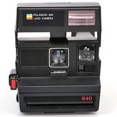 Polaroid 640/600 land camera