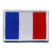 Patch France / Ecusson Brod� Thermocollant / Neuf / 8,5 Cm X 5,5 Cm