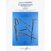 Andersen 24 Grandes Etudes Op. 15 Volume 1