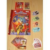 Lot Cora Madagascar 3 - Album Collector + 90 Autocollants + 24 Jetons + Codes De Jeux